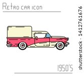 color vector icon american...   Shutterstock .eps vector #1412761676