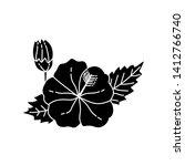 flower leaf illustration design ...   Shutterstock .eps vector #1412766740