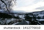 Road In Winter At...