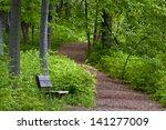Spring Path A Hiking Trail...