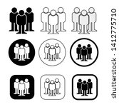 set sign of people icon   Shutterstock .eps vector #1412775710