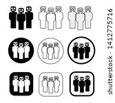set sign of people icon   Shutterstock .eps vector #1412775716