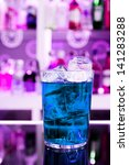 blue drink | Shutterstock . vector #141283288