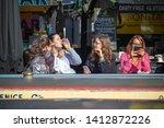 london  uk   18 may  2019  ...   Shutterstock . vector #1412872226