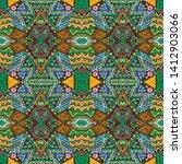 aztec pattern. seamless african ...   Shutterstock . vector #1412903066