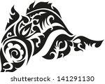 tattoos fish. | Shutterstock .eps vector #141291130