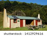flora hut  kahurangi national... | Shutterstock . vector #1412929616