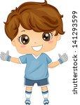 Illustration Of Little Boy...