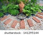 Corner Decorated In Garden...