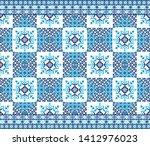 seamless arabic  asian  royal... | Shutterstock .eps vector #1412976023