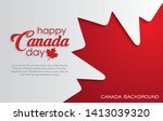 Happy Canada Day Background...