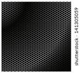 speaker grille. metal cells | Shutterstock .eps vector #141305059