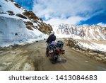 rohtang pass  himachal pradesh  ... | Shutterstock . vector #1413084683