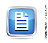 blue striped page icon on a...
