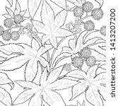 castor vector pattern on white...   Shutterstock .eps vector #1413207200