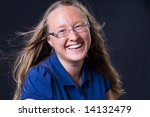 Womans Portrait - stock photo