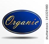 organic label | Shutterstock . vector #141325480