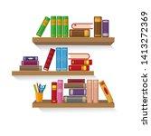 Three Bookshelves With...