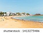 broadstairs beach  kent  uk  ...   Shutterstock . vector #1413275486