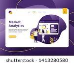 landing page market analytic...