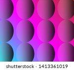 simple semi transparent circle... | Shutterstock .eps vector #1413361019