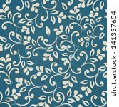 Seamless Floral Pattern. Eps10