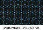 blue background. for textile ... | Shutterstock .eps vector #1413436736