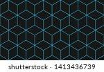 blue background. for textile ... | Shutterstock .eps vector #1413436739