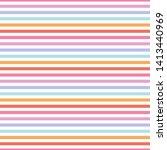 pastel stripes seamless pattern ...   Shutterstock .eps vector #1413440969