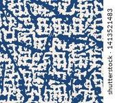 stripe texture pattern. indigo...   Shutterstock .eps vector #1413521483