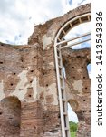 ruins of early byzantine... | Shutterstock . vector #1413543836