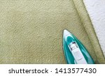 modern white and olive terry... | Shutterstock . vector #1413577430
