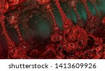 abstract background  fantastic... | Shutterstock . vector #1413609926