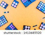 flat lay photo of various... | Shutterstock . vector #1413685520