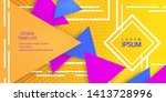 advertising banner .abstract...