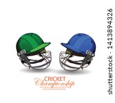 illustration of cricket... | Shutterstock .eps vector #1413894326