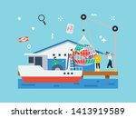 Fishery  Fish Industry In Tiny...