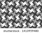 abstract geometric pattern with ... | Shutterstock .eps vector #1413959480