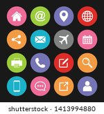 website icon  web icon set... | Shutterstock .eps vector #1413994880