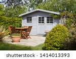 Shed With Terrace And Wooden...