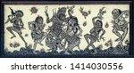 ubud  bali  indonesia  ... | Shutterstock . vector #1414030556