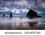 Oregon's Cannon Beach And The...