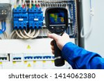 thermal imaging inspection of...   Shutterstock . vector #1414062380