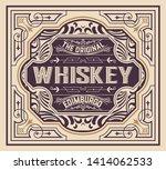 old label for packig. vector...   Shutterstock .eps vector #1414062533