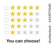 collection gold star rating...
