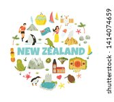New Zealand Abstract Design...