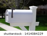 White Mailbox In A Street
