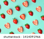 Strawberry. Pattern Of...