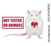 Not Tested On Animals Symbol....