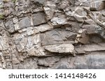 Crumbling Rock Cliff In The...